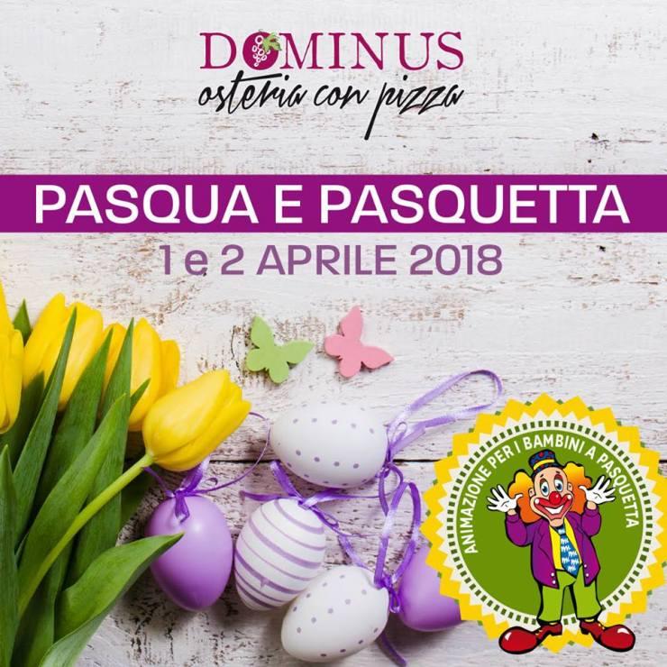 Pasqua e Pasquetta 2018