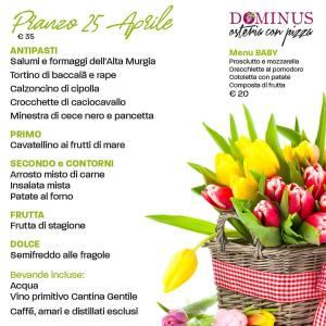 Feste di Primavera 2019 da Dominus