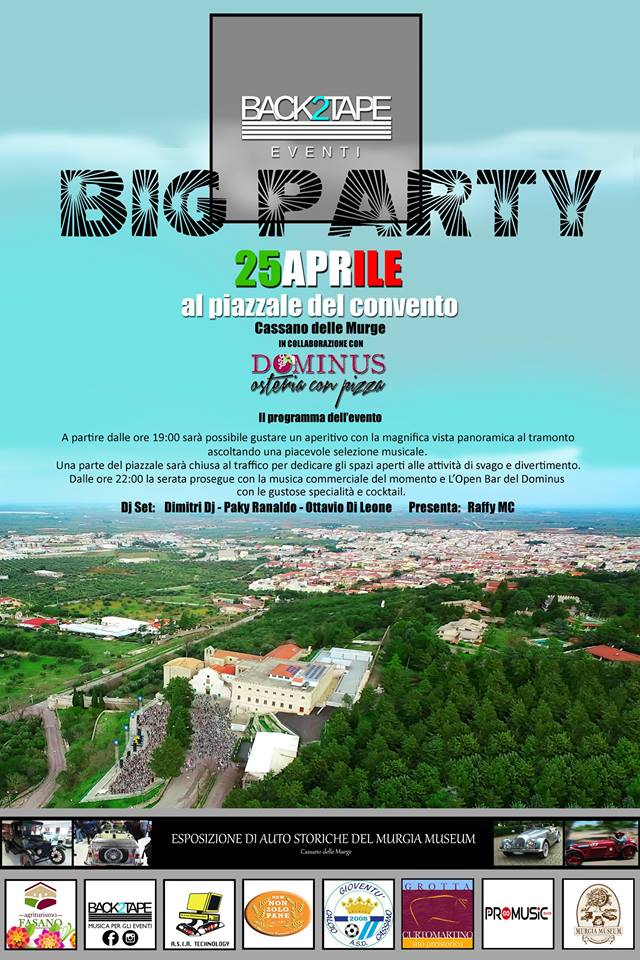 Big Party 25 aprile 2019